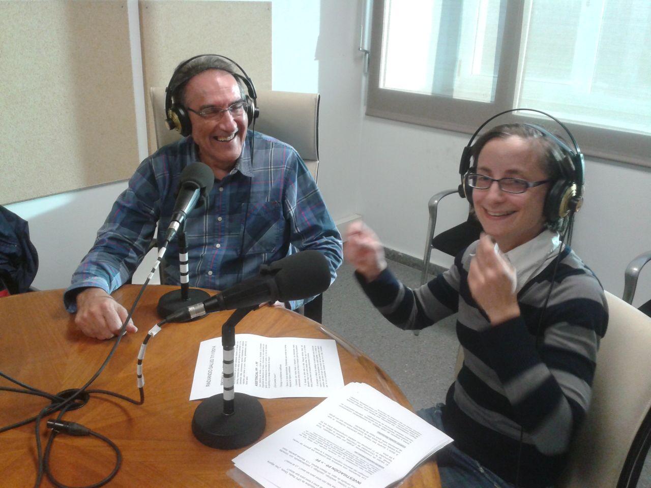 """Salud Sexual-Entrevistas a Joan Vílchez-PSICÓLOGO–SEXÓLOGO-PSICOTERAPEUTA – Valencia, por Vanessa Garzón en """"Radiando Salud"""" de UPV Radio-102.5 FM-FOTO"""